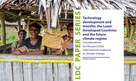 Technology development and transfer, the Least Developed Countries and the future of the climate regime: Considerations for the post-2020 international response to climate change