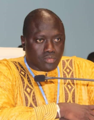 Minister of Environment, Climate Change and Natural Resources, The Gambia H.E. Lamin B.Dibba