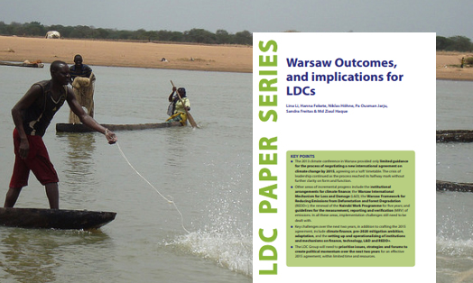 Warsaw outcomes, and implications for LDCs