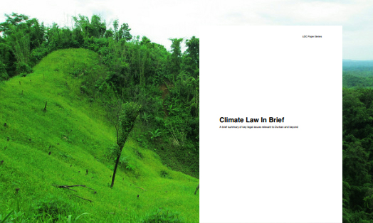 Climate Law in brief: A brief summary of key legal issues relevant to Durban and beyond