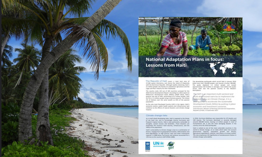 National Adaptation Plans in focus: Lessons from Haiti