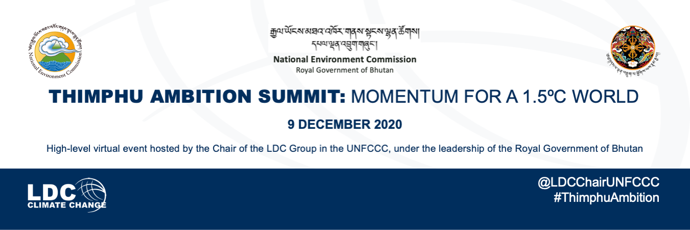 Least Developed Countries Ramp Up – and Call For – Climate Ambition at Virtual Summit Before 2020 Deadline